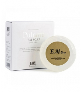 Evome Прозрачное антиоксидантное мыло ручной работы Pulamu Transparent Soap