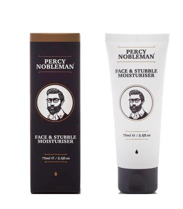 Face and Stubble Moisturiser / Увлажняющее средство для лица и бороды Percy Nobleman