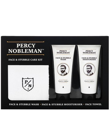Face & Stubble Kit / Набор для ухода за бородой Percy Nobleman
