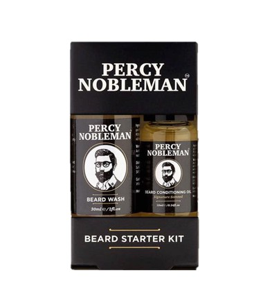 Beard Starter Kit / Пробный набор для бороды Percy Nobleman