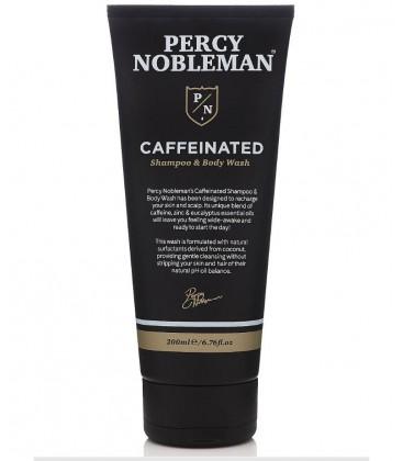 Caffeinated Shampoo & Body Wash / Шампунь и средство для мытья с кофеином Percy Nobleman