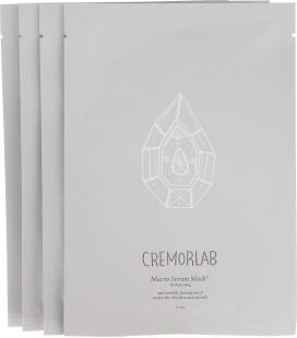"""Cremorlab Лифтинг-маска """"3Д обновление"""", из биоцеллюлозы, 4 шт"""