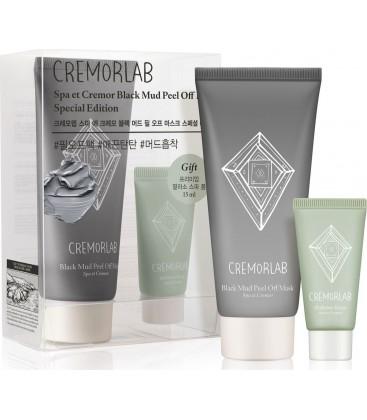 Маска-пленка Cremorlab очищающая, на основе глины + подарок Cremorlab