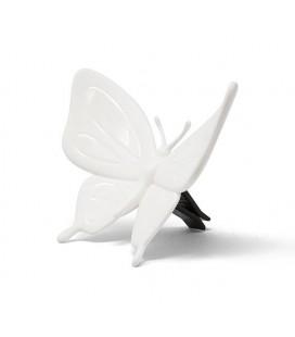 Аромадекор для авто и дома Бабочка белый / Cucumber
