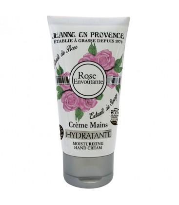 Увлажняющий крем для рук ROSE ENVOUTANTE Jeanne En Provence