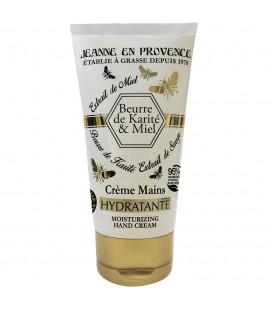 Jeanne En Provence Увлажняющий крем для рук SHEA BUTTER&HONEY