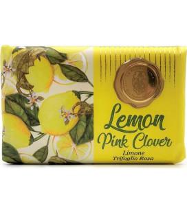 La Florentina Мыло Lemon & Pink clover / Лимон и Розовый клевер