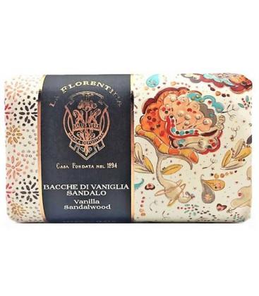 Мыло Vanille & Sandal Wood / Ваниль и Сандал La Florentina