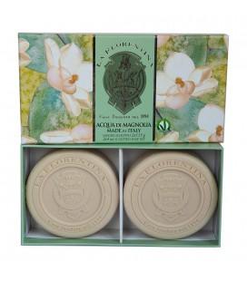 La Florentina Набор мыла  Fresh Magnolia / Свежая магнолия 2х115 г