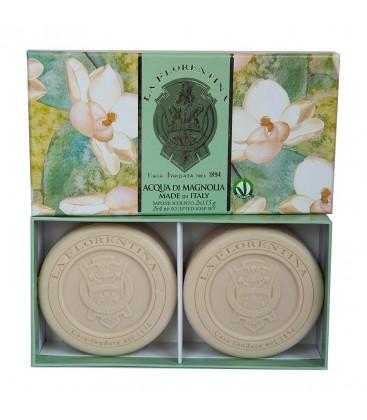 Набор мыла  Fresh Magnolia / Свежая магнолия 2х115 г La Florentina