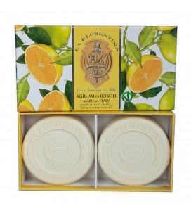 La Florentina Набор мыла  Citrus / Цитрус 2х115 г