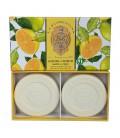 Набор мыла  Citrus / Цитрус 2х115 г La Florentina