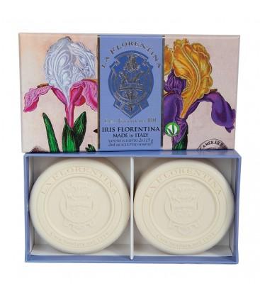 Набор мыла Florentina Iris / Флорентийский ирис 2х115 г La Florentina