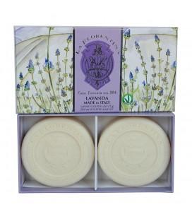 La Florentina Набор мыла Lavender / Лаванда 2х115 г