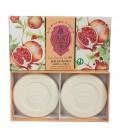 Набор мыла Pomegranate / Гранат 2х115 г