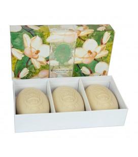 La Florentina Набор мыла  Fresh Magnolia / Свежая магнолия 3х150 г