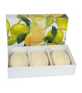 La Florentina Набор мыла  Citrus / Цитрус 3х150 г