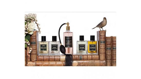 Jardins d'Ecrivains - литературный парфюмерный проект