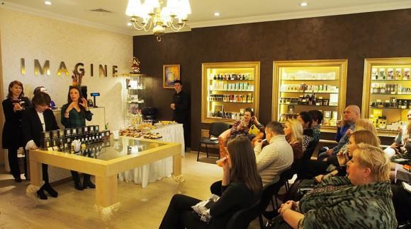 Визит владельцев бренда Evody Parfums